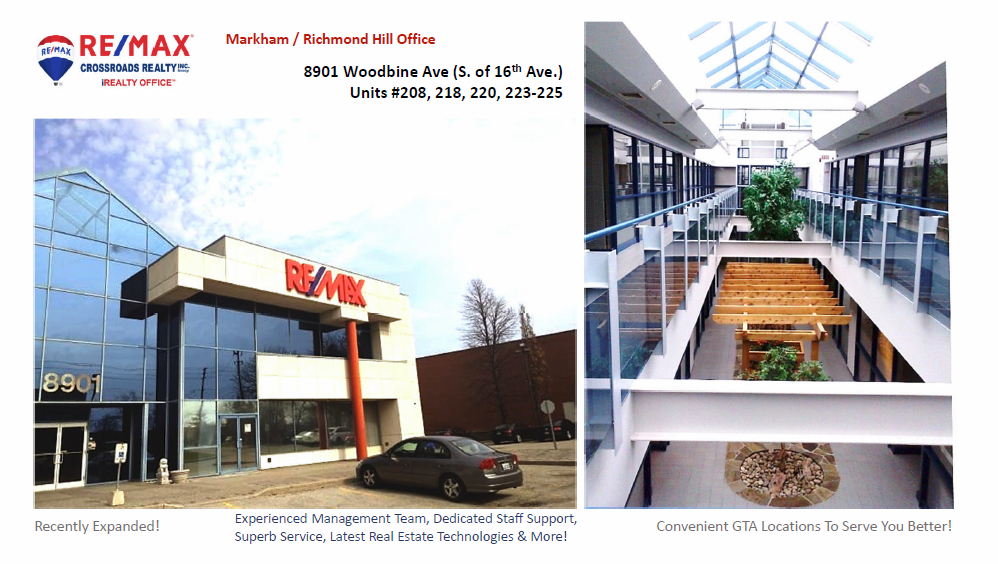 RE/MAX Crossroads Woodbine Richmond Hill real estate office